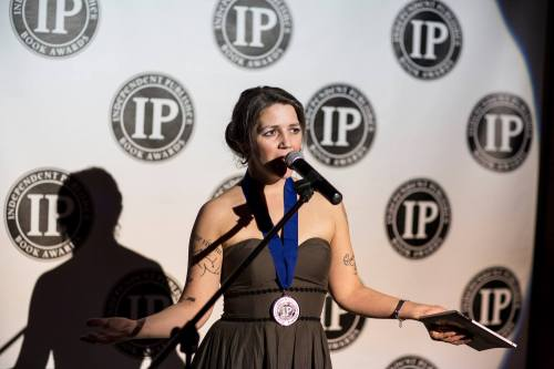 Marty McConnell at the IPPY Awards.