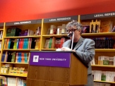 "Paul Muldoon read another sestina of his, not in the book, called ""The Turn."" It's pretty incredible."